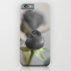 A Black Rose for your Sweetheart Slim Case iPhone 6s