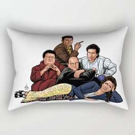 The Nothing Club Rectangular Pillow