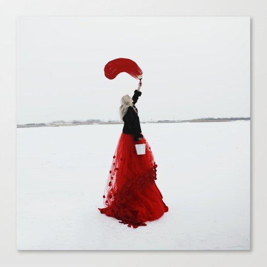 You colour your own path Canvas Print