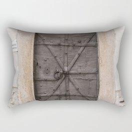 iron door Rectangular Pillow
