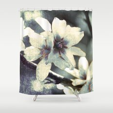 Almond bloom Shower Curtain