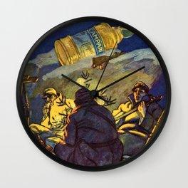Rare WWI 1916 Vintage Campari Advertisement by Marcello Ddudovich Wall Clock
