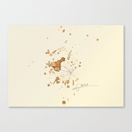 #coffeemonsters 447 Canvas Print