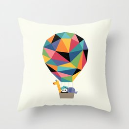 Fly High Together Throw Pillow