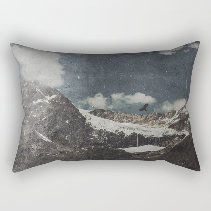Glacial Shift Rectangular Pillow