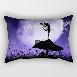 Fairy Silhouette 2 Rectangular Pillow