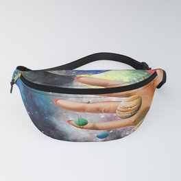 Psychedelic space Fanny Pack