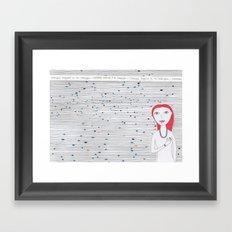 Always Follow Heart Framed Art Print