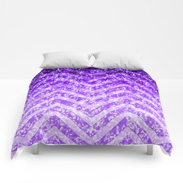 Zig Zag Sparkley Texture G229 Comforters