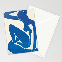 Blue Nude #1- Henri Matisse Stationery Cards