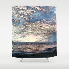 Twilight Blue Shower Curtain