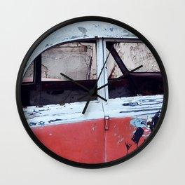 Old retro car Wall Clock