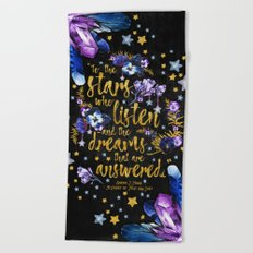 A Court of Mist and Fury - To The Stars Beach Towel