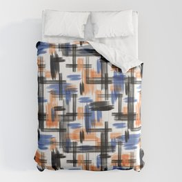 Watercolor abstraction. Comforters