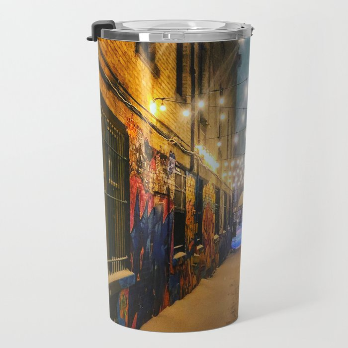 Winter Graffiti Travel Mug