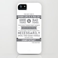 Good Things & Bad Things (gray) Slim Case iPhone (5, 5s)