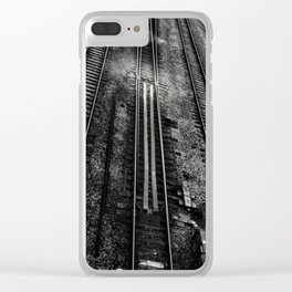 Tracks 1 Clear iPhone Case