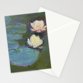 Nympheas by Claude Monet Stationery Cards