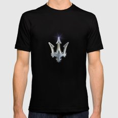 Maserati Black 2X-LARGE Mens Fitted Tee