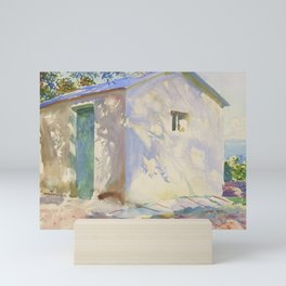 "John Singer Sargent ""Corfu: Lights and Shadows"" Mini Art Print"