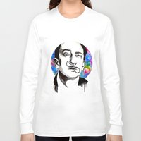 dali Long Sleeve T-shirts featuring Dali by Clementine Petrova