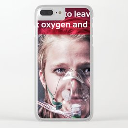 Oxygen 03 Clear iPhone Case