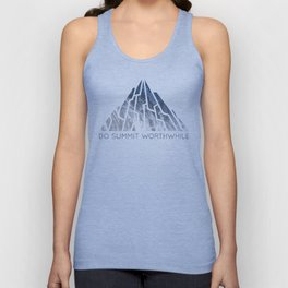 DO SUMMIT WORTHWHILE Unisex Tank Top
