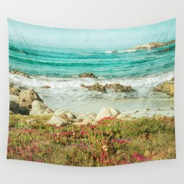 Scenic Photography, Beach, 17 Mile Drive, Monterey, Pebble Beach, Pacific Grove,  Wall Tapestry