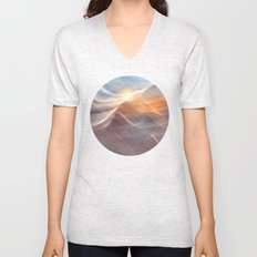 Earth , Wind & Fire (abstract) Unisex V-Neck