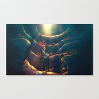 magic Canvas Prints featuring Someday by Alice X. Zhang