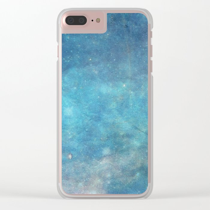 Spellcast Sky Turquoise Clear iPhone Case