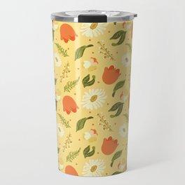 Autumn Floral Travel Mug