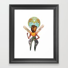 THE ANGEL GABRIEL Framed Art Print