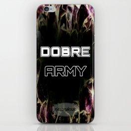 Dobre Army iPhone Skin