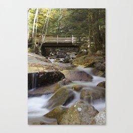 Flume Gorge Falls Canvas Print