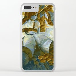 Double Cheeks Clear iPhone Case
