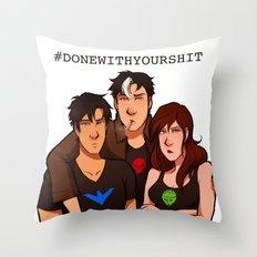 BIG BAT KIDS Throw Pillow