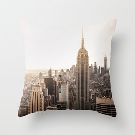 Empire Love Throw Pillow