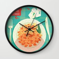 :::Butterflies in your stomach::: Wall Clock