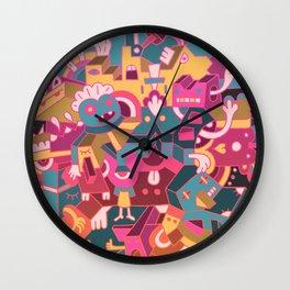 Dear Clarence Wall Clock