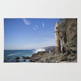 Pirate Tower Laguna Beach Rug
