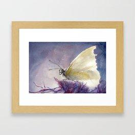 Dancing With Moonlit Wings Framed Art Print