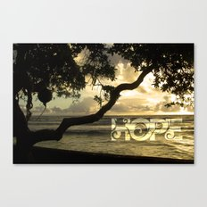 Hawaii-Hope Canvas Print