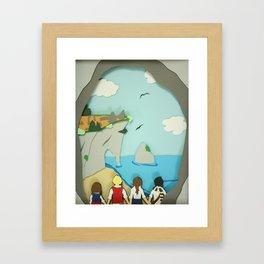 Ruins in Narnia? Framed Art Print
