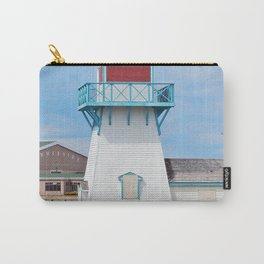 Boarded  Up Lighthouse in Summerside Carry-All Pouch