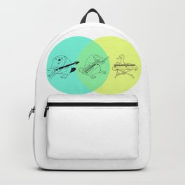 Keytar Platypus Venn Diagram Backpack
