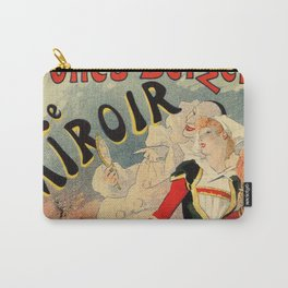 French belle epoque mime theatre advertising Carry-All Pouch