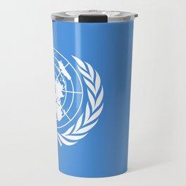The United Nations Flag - Authentic Version Travel Mug