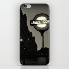 London Temple Undergroung Station iPhone & iPod Skin