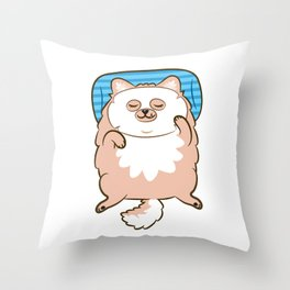 Your face, your fate. Throw Pillow